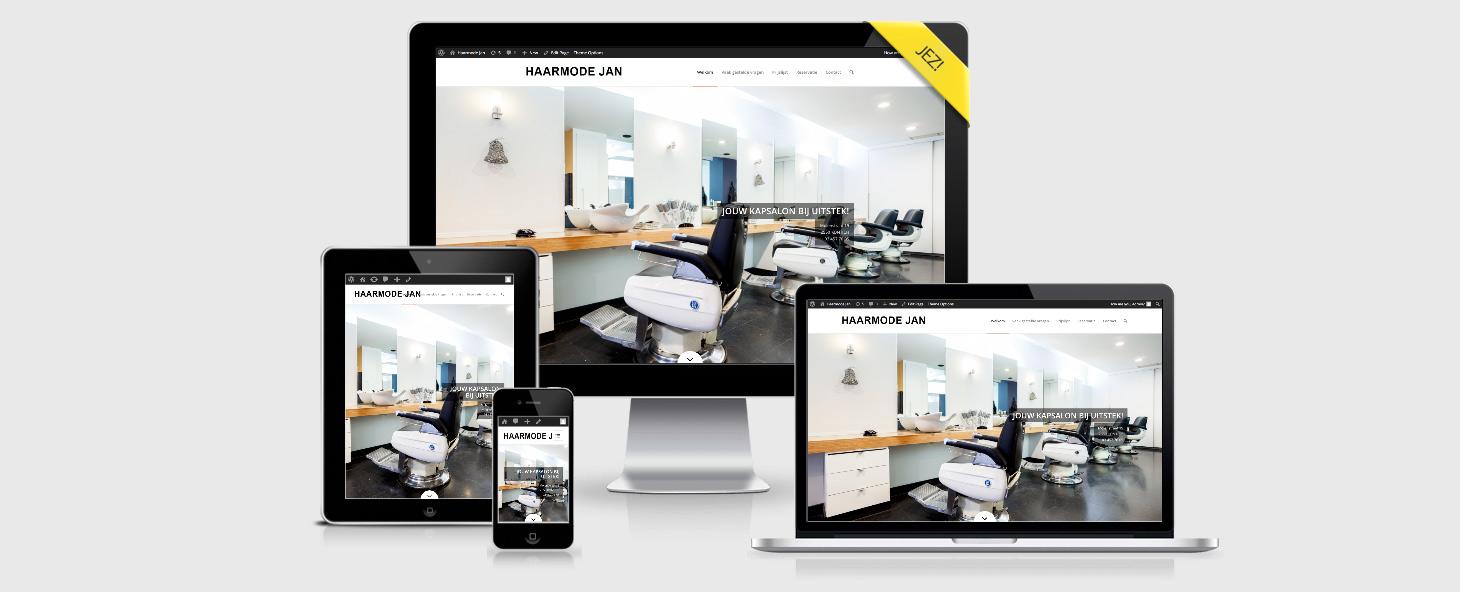 Eigen Zaak Starten > JEZ Branding Agency - Webdesign - HAARMODEJAN.BE